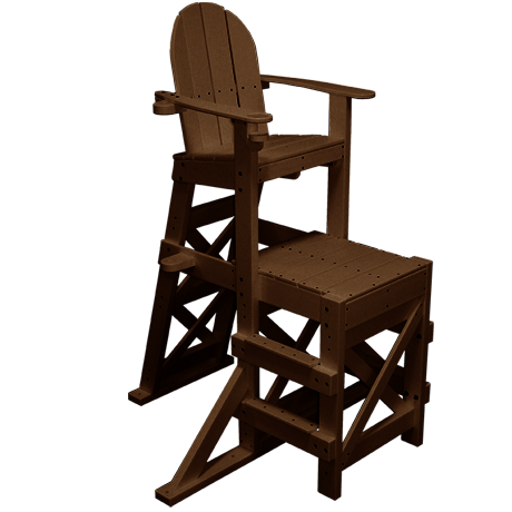 Medium Lifeguard Chair With Side Steps
