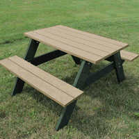 Recycled Plastic Picnic Tables - Commercial Picnic Tables