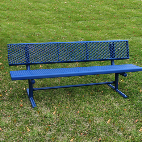 Champion Plastisol Coated Park Bench