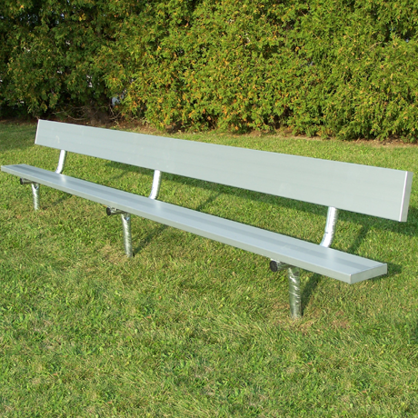 Sports Bench for Team Soccer, Football, Baseball & Locker Rooms