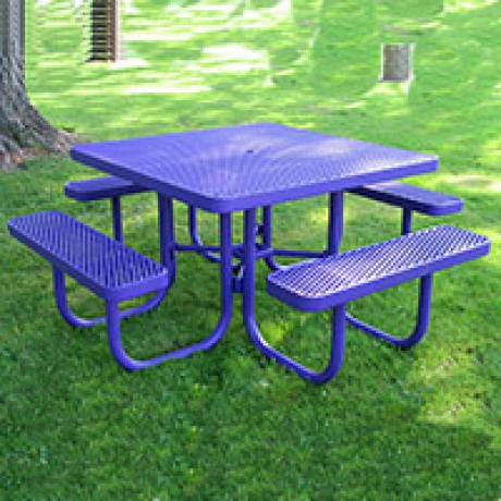Plastisol Coated Picnic Tables