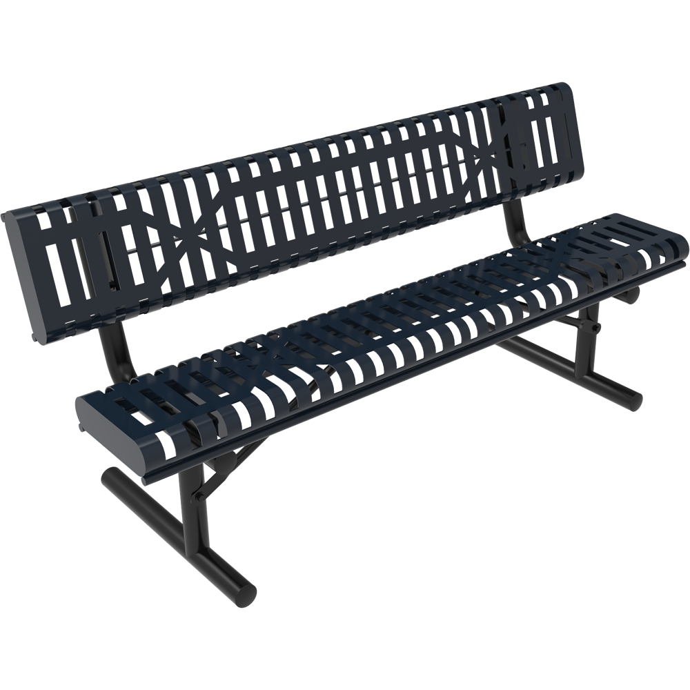 Lexington Rolled Bench with Back