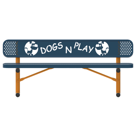 Rivendale Dog Themed Bench