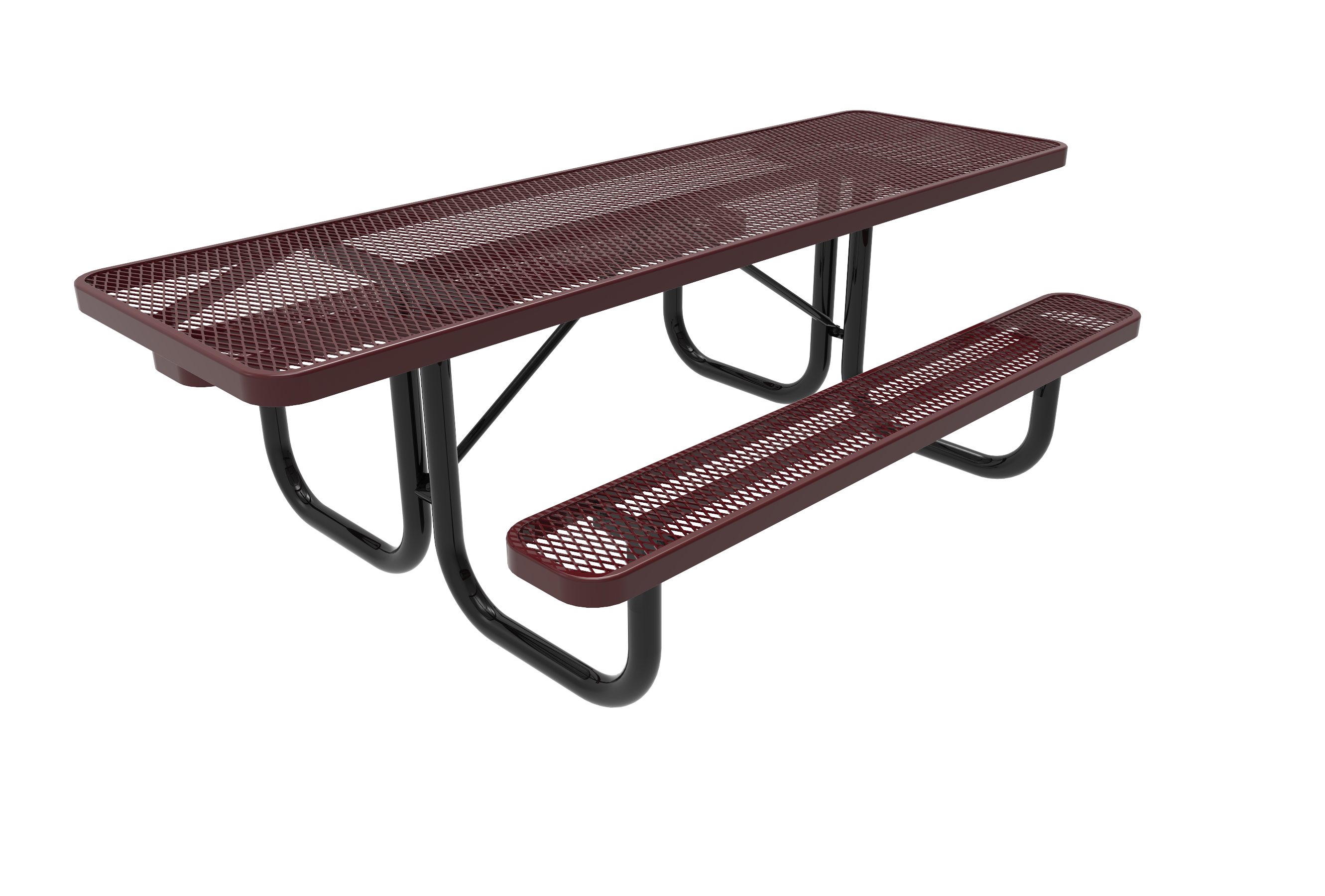8' Lexington Rectangular Portable Table
