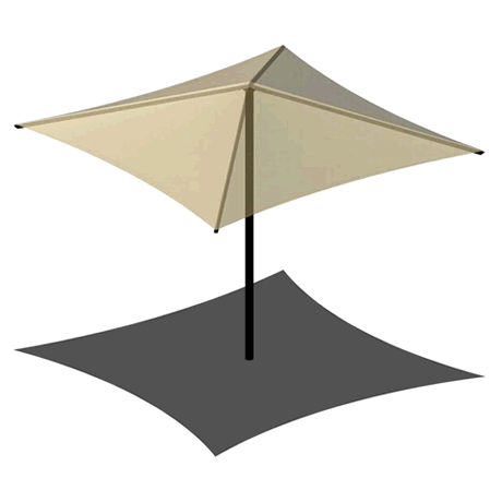 Center Post 8EH x 8' Umbrella