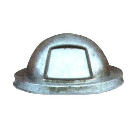 Galvanized Dome Lid for Trash Can-Accessories