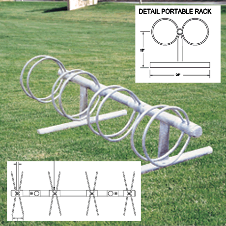 Circle Style Bike Rack-Bike Racks