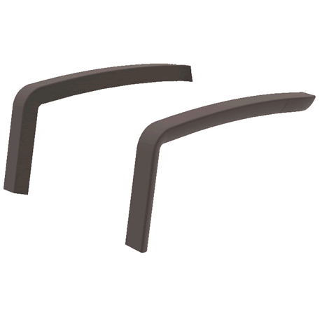 Arms for Sunset Conversational Seating - Fusion Bronze