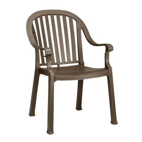 Colombo Stacking Armchair - Bronze