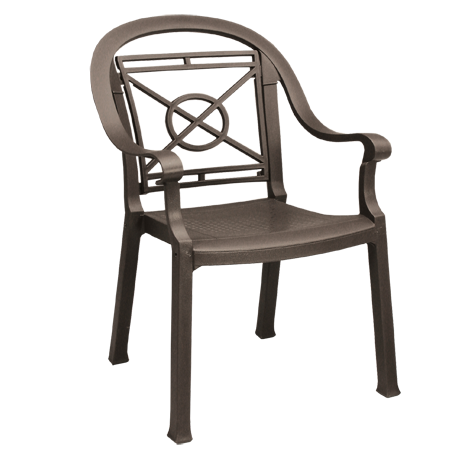 Victoria Classic Stacking Armchair - Bronze