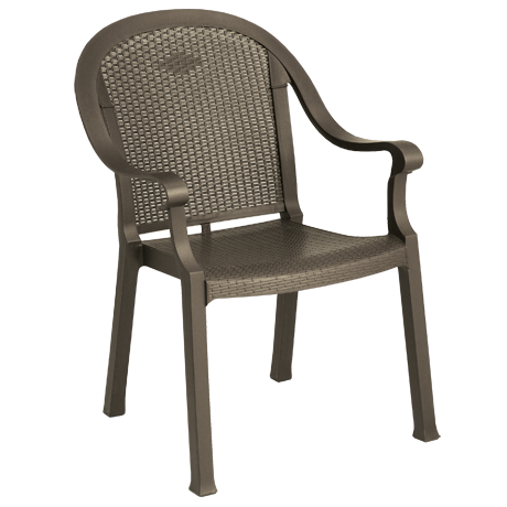 Sumatra Classic Stacking Dining Armchair - Bronze