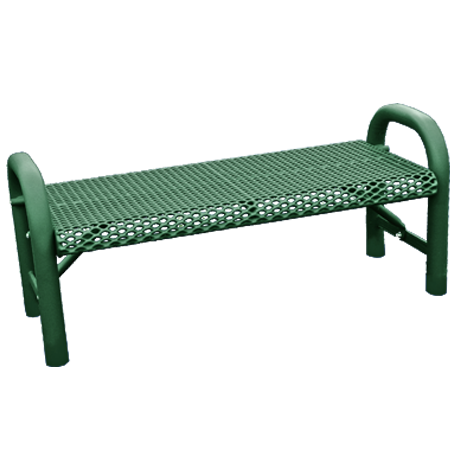 Grand Contour Style Bench without Back-Benches and Glider Benches