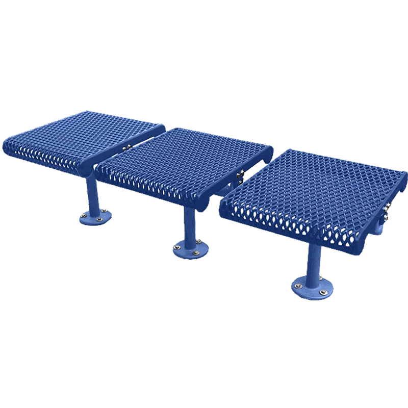 Grand Contour Series 3 Seat In-Line Bench without Back