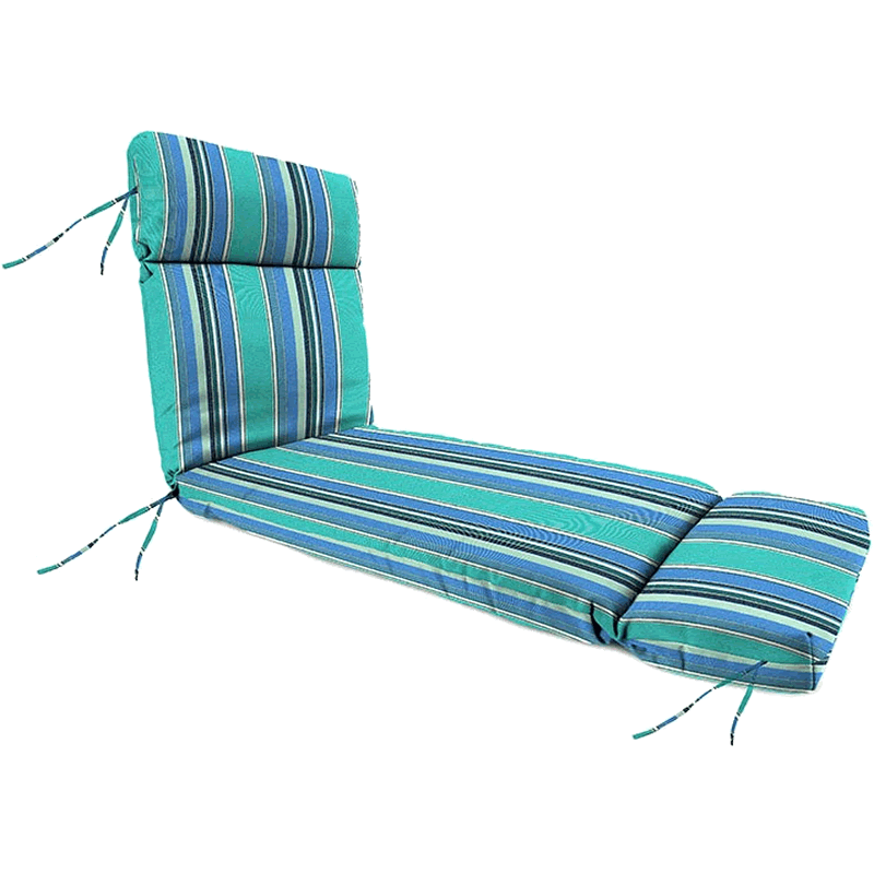Chaise Lounge Cushion with Seat Hingge