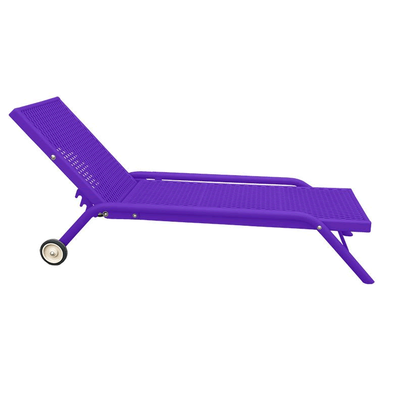 Chaise Lounge Chair with Adjustable Back Rest