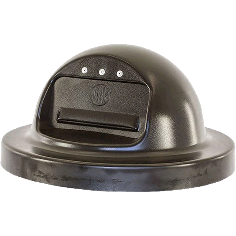 Polydome Lid for Round Receptacle