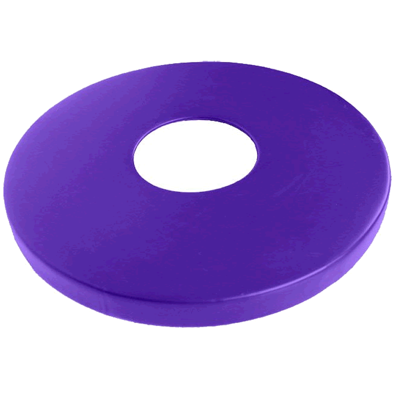 Flat Lid for One-Piece Round Receptacle
