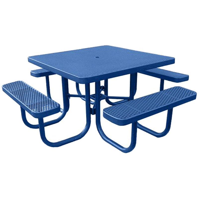 Champion Series Square Picnic Table - Free Standing - 4' Top