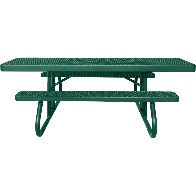 Champion Series ADA Accessible Rectangle Picnic Table - Free Standing