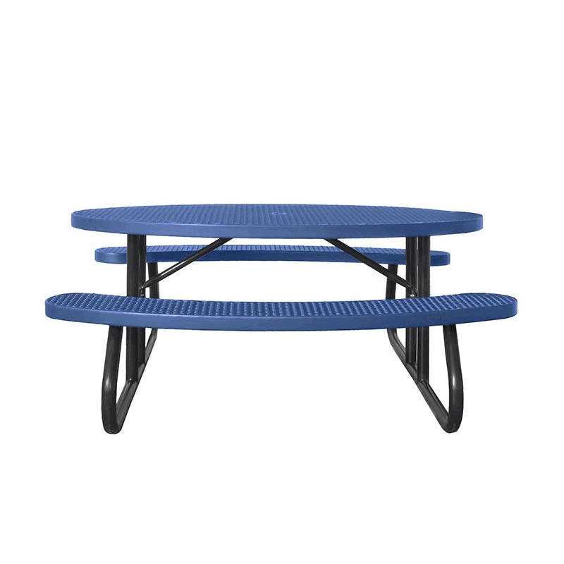 Champion Series Oval Picnic Table - Free Standing