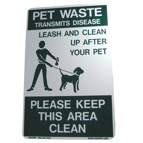 DogipotOn Leash Sign-Accessories