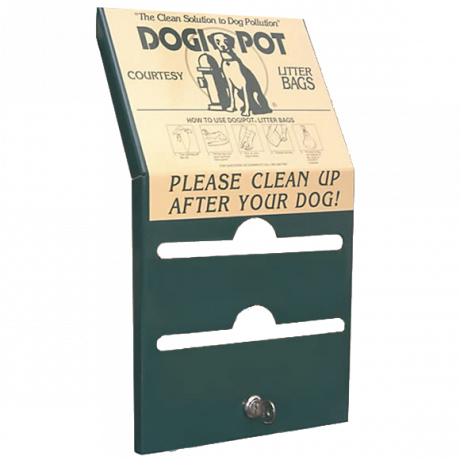 DogipotReplacement Lid/Cover with Label and Lock-Parts