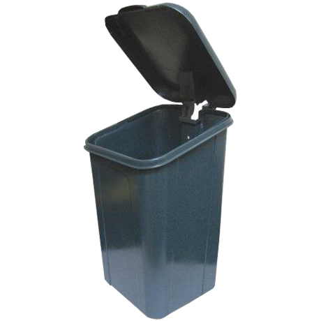Dogipot10 Gallon Trash Receptacle, Polythene-Receptacles