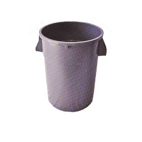 Round Trash Receptacle Liner