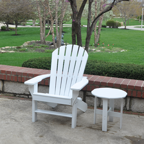 Seaside Adirondack Chair (side table not included)