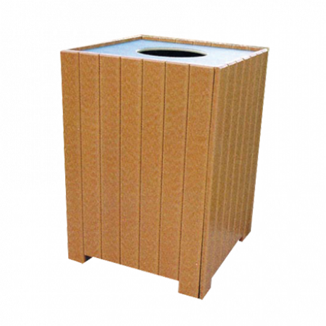 Standard Square Receptacle-Trash Receptacles