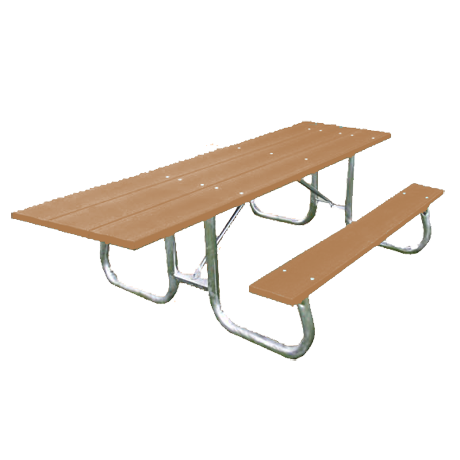 Bessemer Style ADA Accessible with Resinwood Top-Picnic Tables