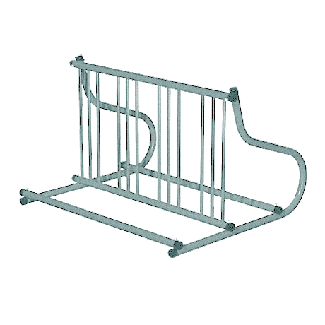 Gridrac Bike Rack - Galvanized