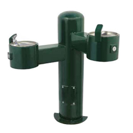 Wall Mount Dual Height Heavy Steel Drinking Fountain