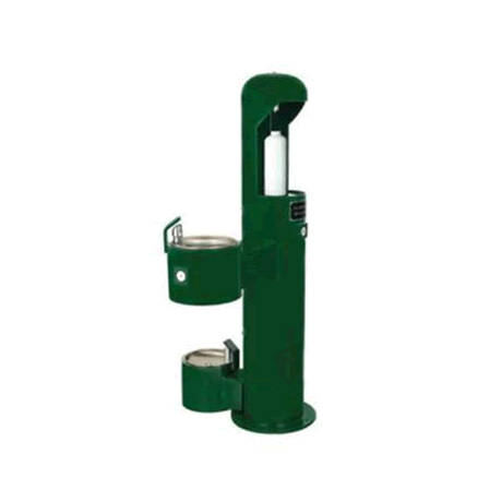 Water Bottle Filler Station with Drinking Fountain and Pet Fountain