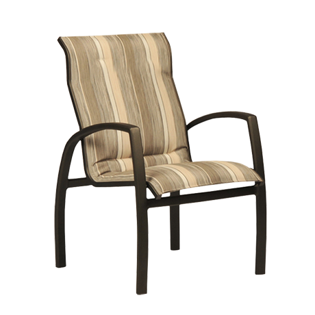 Brooklyn Comfort Sling Stackable Low Back Dining Chair