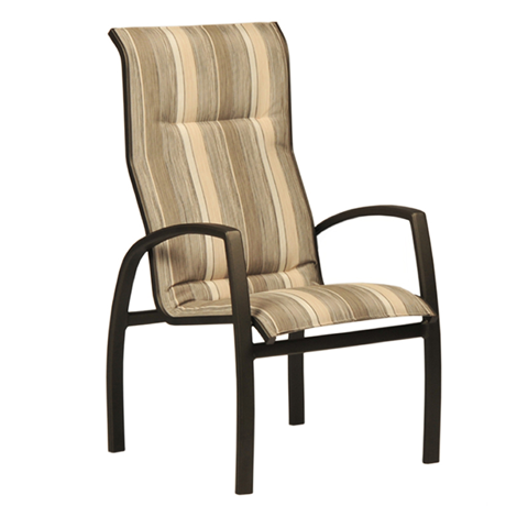 Brooklyn Comfort Sling Stackable High Back Dining Chair