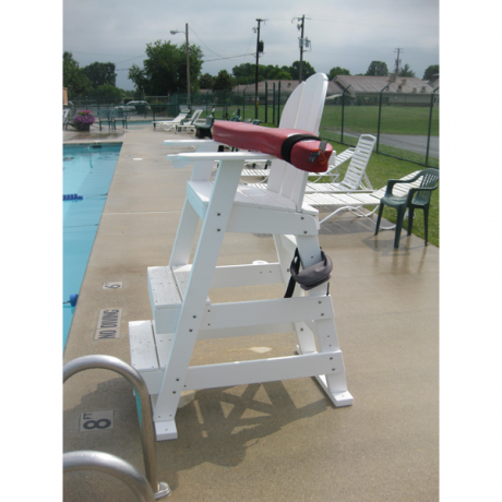 Lifeguard Chair with Front Steps-Lifeguard Chairs