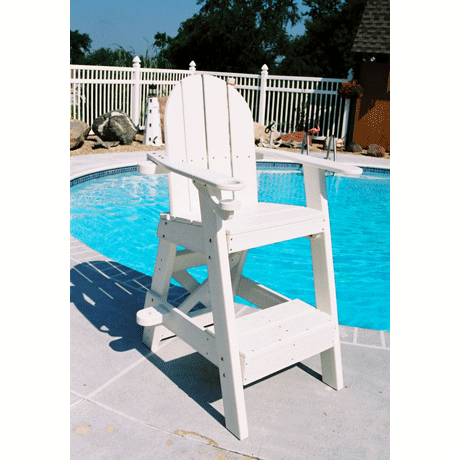 Lifeguard Chair with Front Step-Lifeguard Chairs