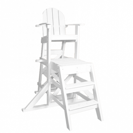 Medium Lifeguard Chair with Front Ladder-Lifeguard Chairs