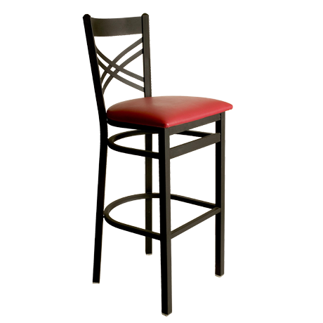 Akrin Cross Back Barstool-