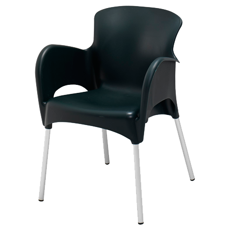 Lola Stacking Arm Chair-Chairs and Glider Chairs