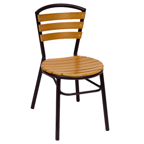Norden Outdoor Stacking Side Chair