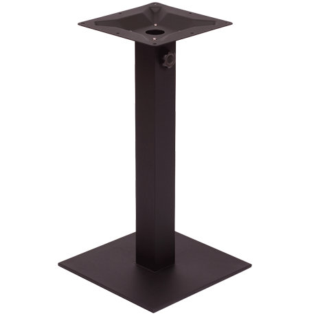 """Margate 18"""" Square Dining Height Table Base"""
