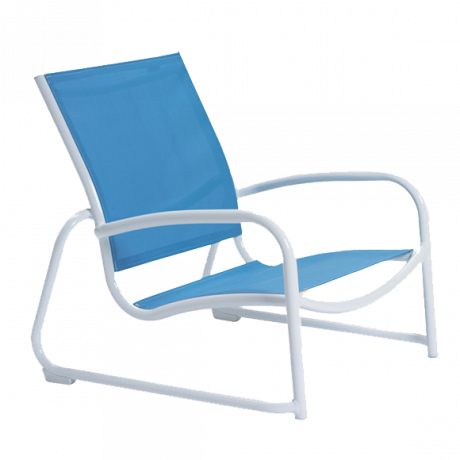 Tropitone Millenia Relaxed Sling Sand Chair-Chairs and Glider Chairs