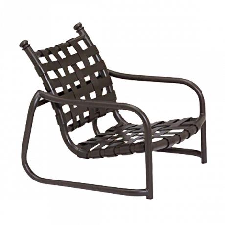 Tropitone La Scala Cross-Strap Sand Chair-Chairs and Glider Chairs