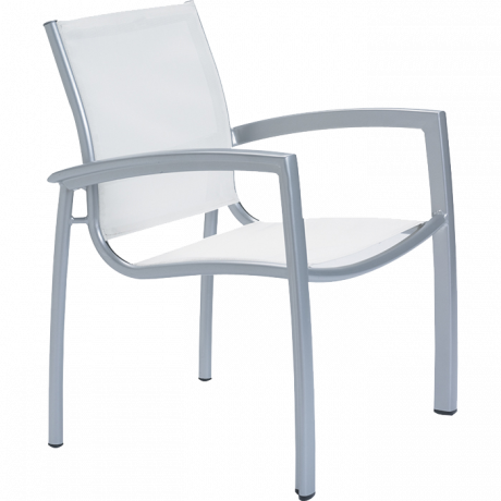 South Beach Relaxed Sling Dining Chair