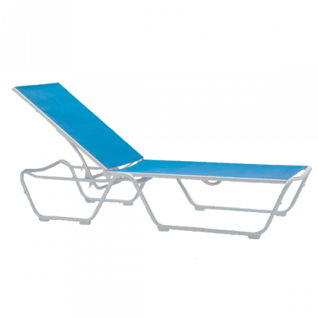Tropitone Millenia Relaxed Sling Chaise Lounge-Lounge Chairs/Chaise