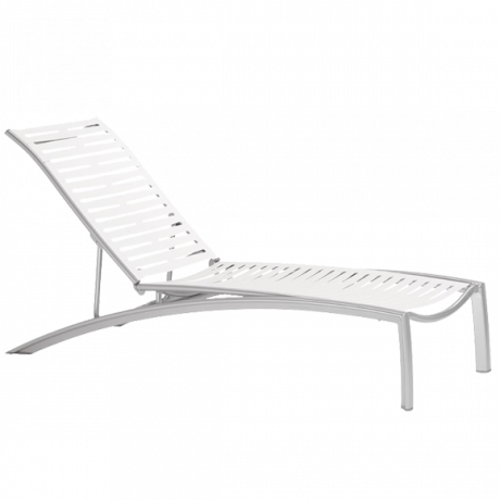 South Beach EZ SPAN Ribbon Chaise Lounge