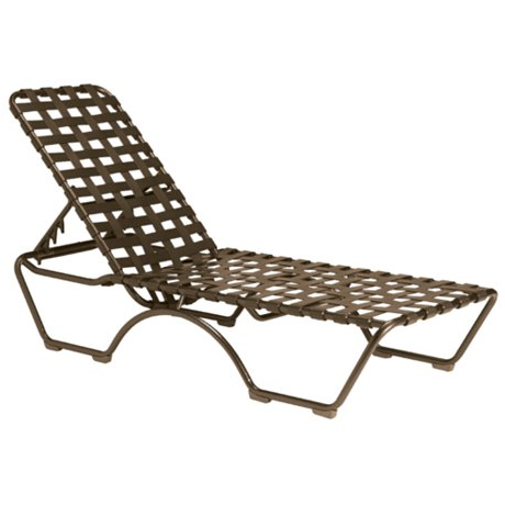 Kahana Cross-Strap Chaise Lounge