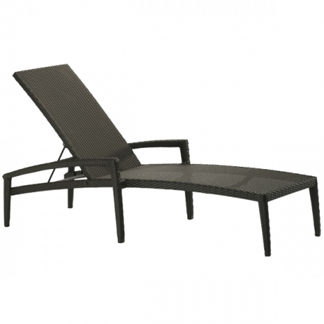 Evo Woven Chaise Lounge with Arms